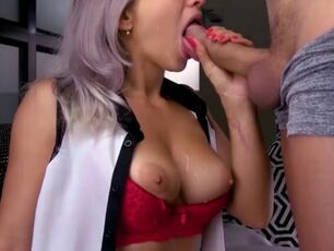 Forced cum in mouth compilation